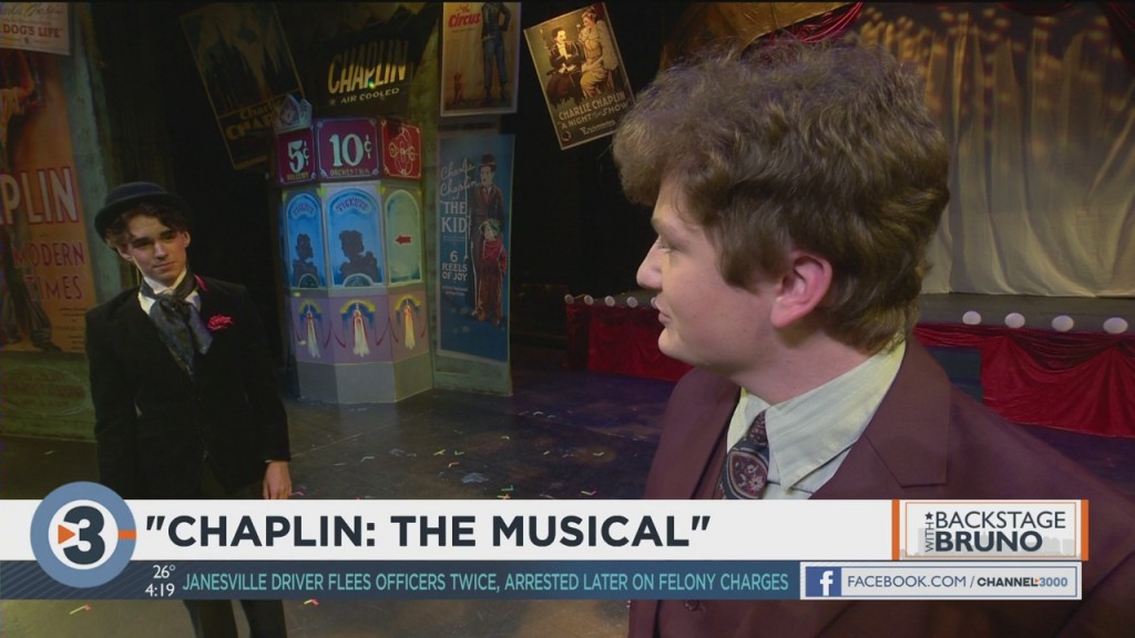 Backstage With Bruno: 'chaplin: The Musical'