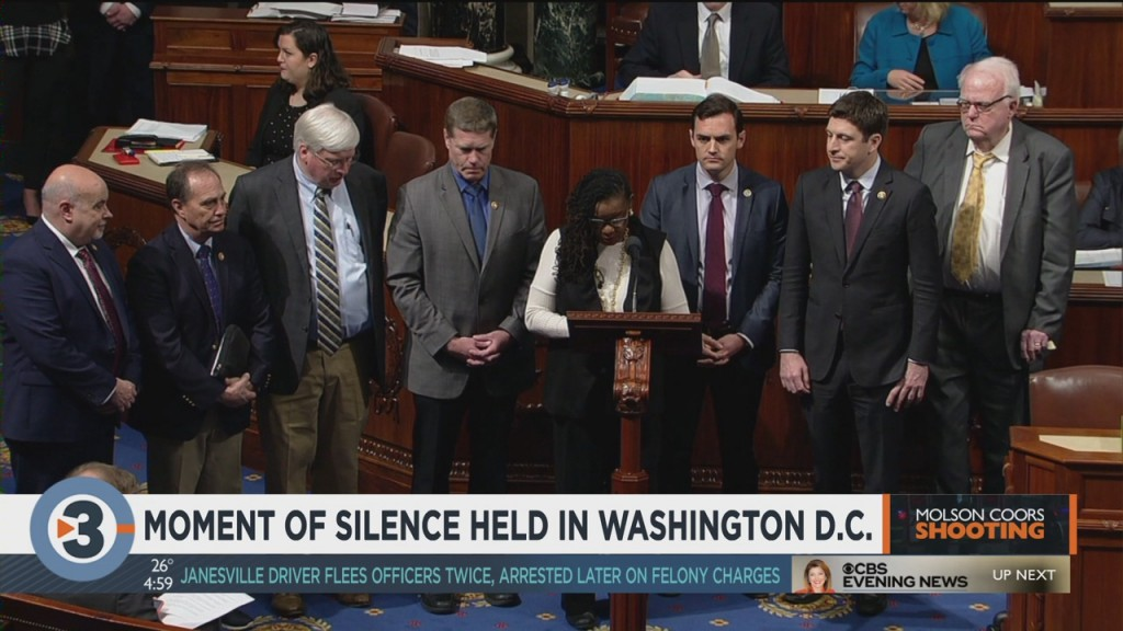 Moment Of Silence Held In Washington D.c.