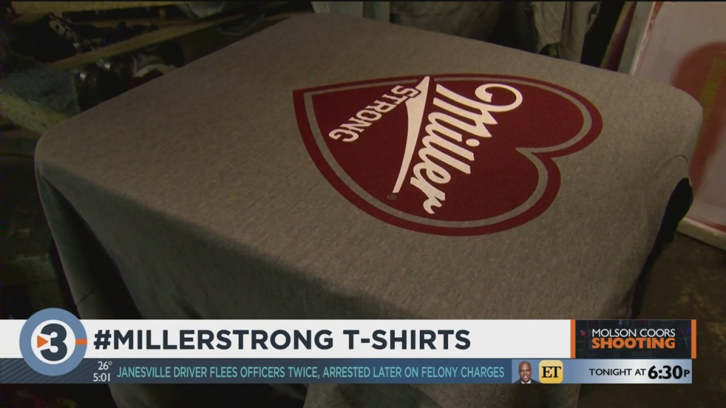 Brew City Brand Warns Of Counterfeit 'miller Strong' Shirts