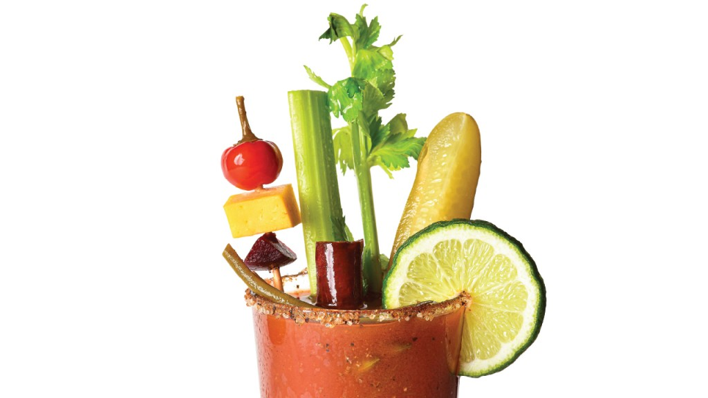 bloody mary fully garnished