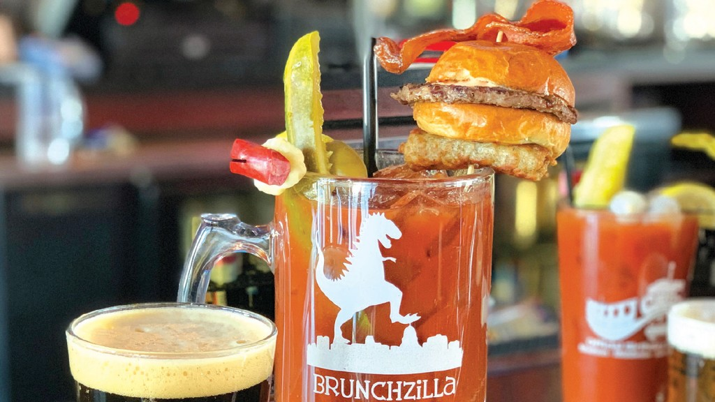 brunchzilla bloody mary in a glass