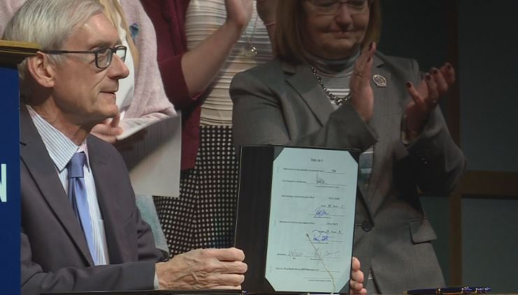 EVERS BILL SIGNING