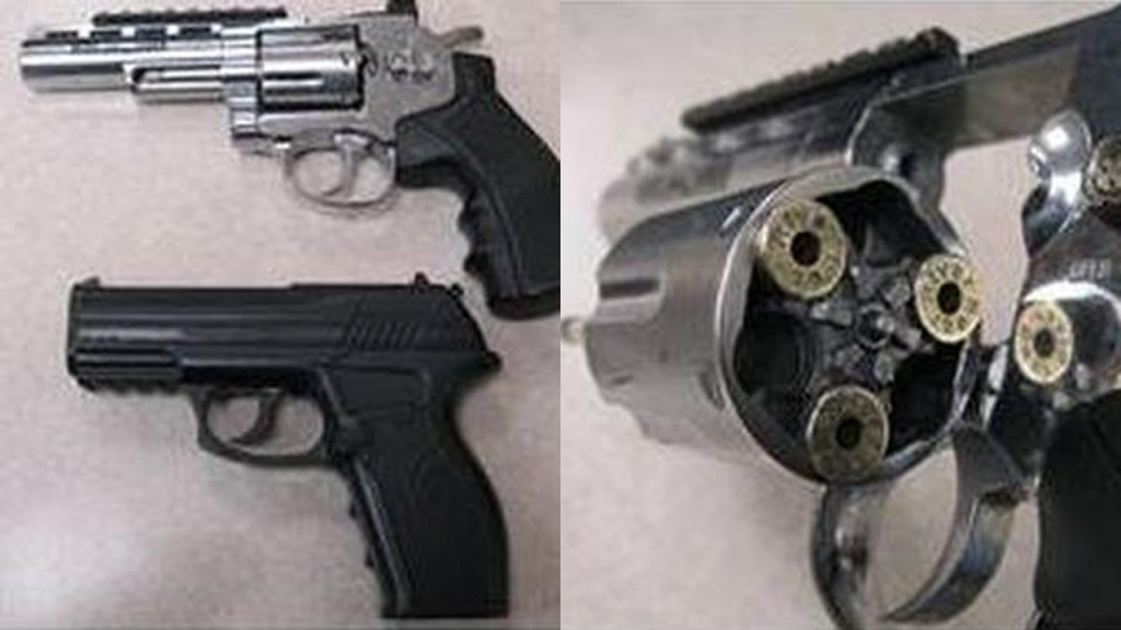 MPD seized BB guns