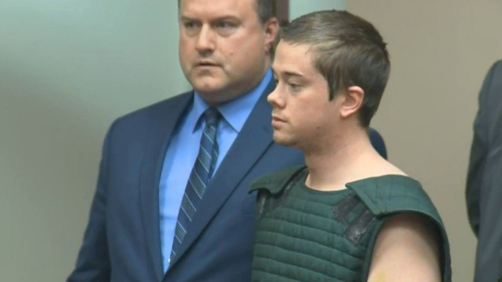 Riley Berg's initial court appearance