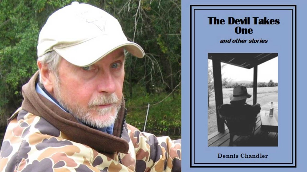 dennis chandler and book cover
