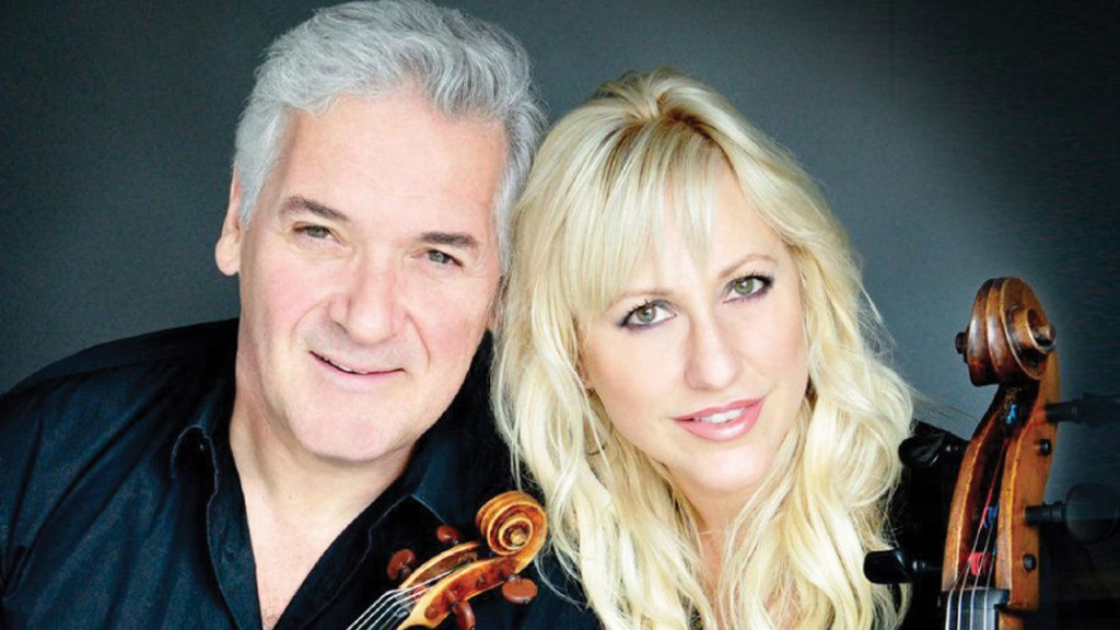 Violinist Pinchas Zukerman and cellist Amanda Forsyth
