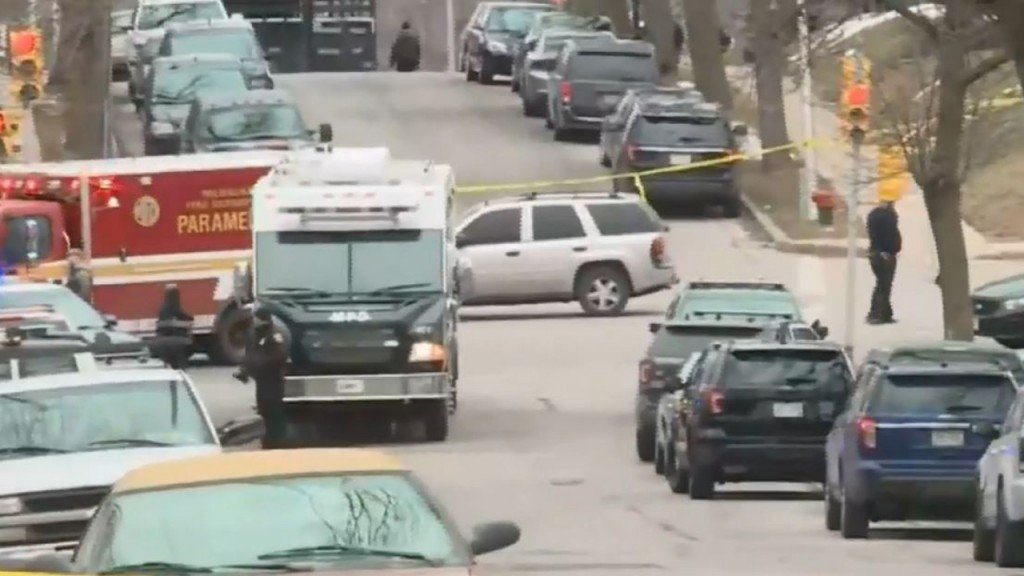 Police are responding to a shooting in Milwaukee