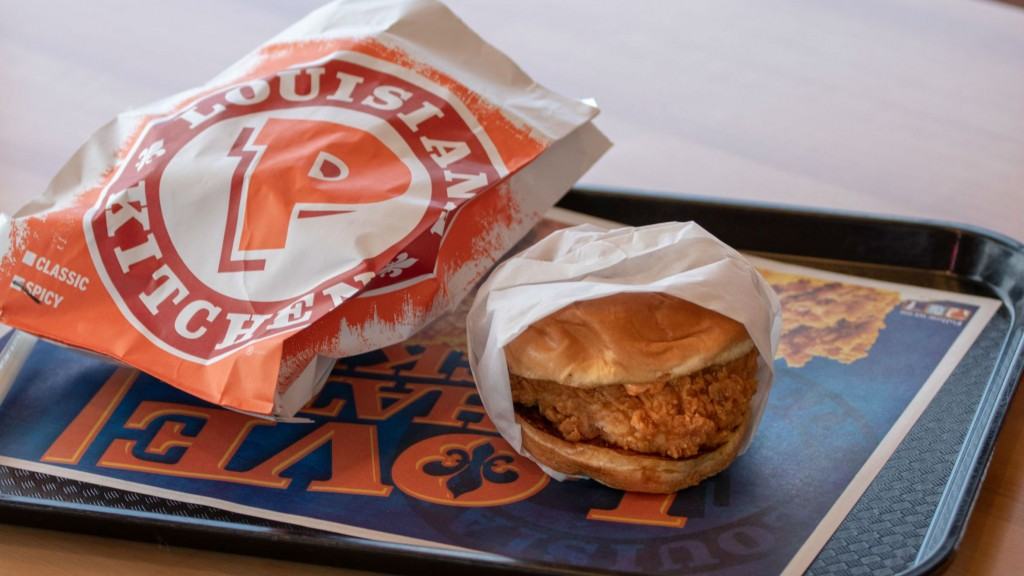 Popeye's Spicy Chicken Sandwich