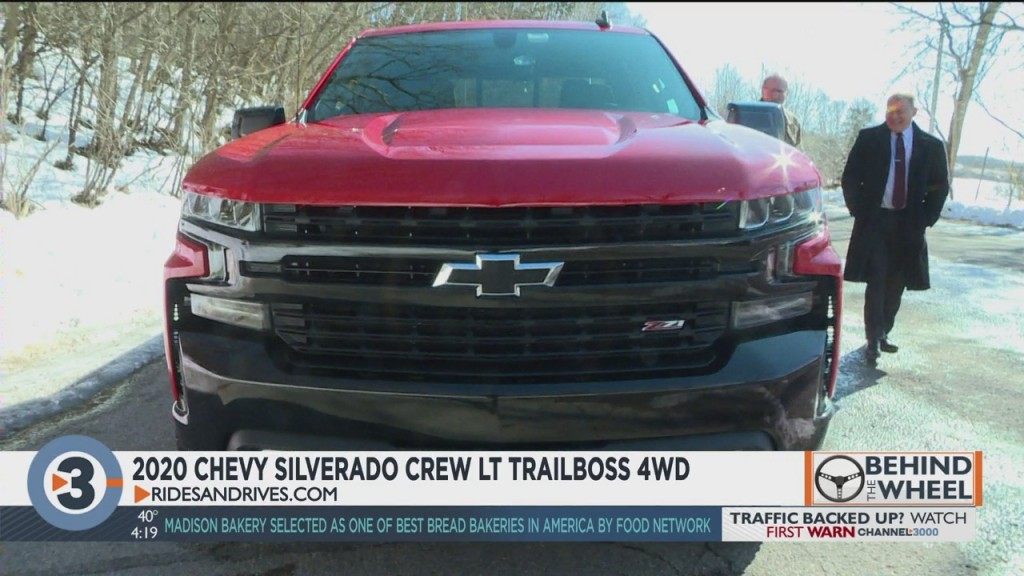 Behind The Wheel: 2020 Chevy Silverado Crew Lt Trail Boss 4wd