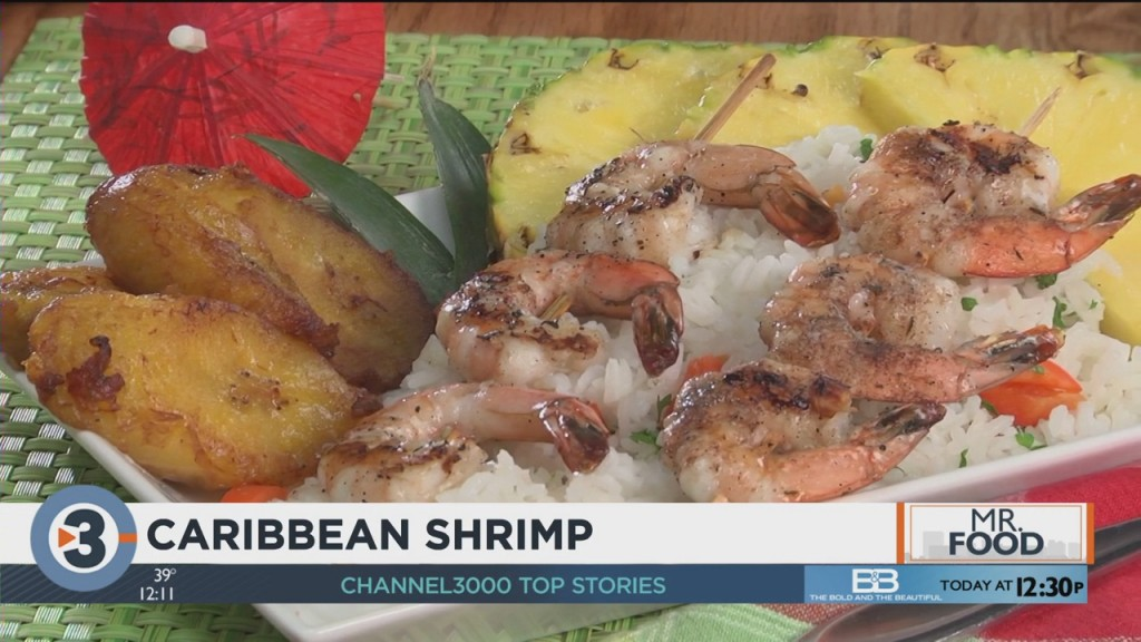 Mr. Food: Caribbean Shrimp