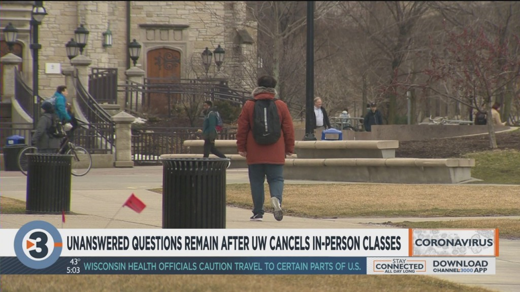 Unanswered Questions Remain After Uw Cancels In Person Classes