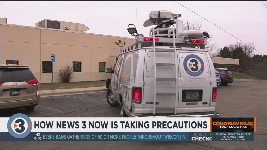 How News 3 Now Is Taking Precautions