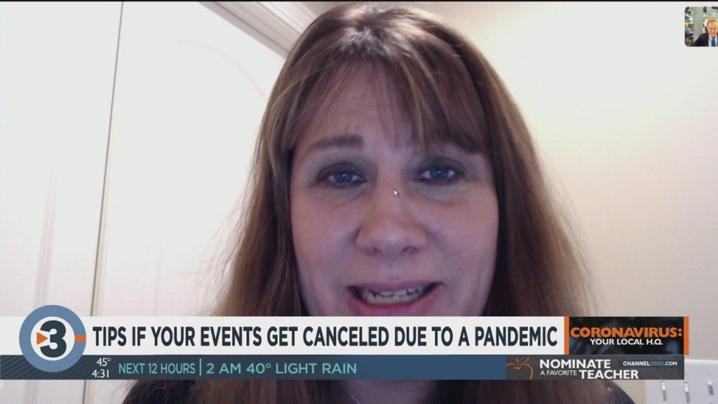 Tips If Your Events Get Canceled Due To A Pandemic