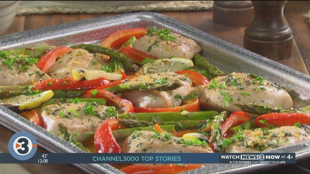 Mr. Food: Sweet And Citrusy Sheet Pan Supper