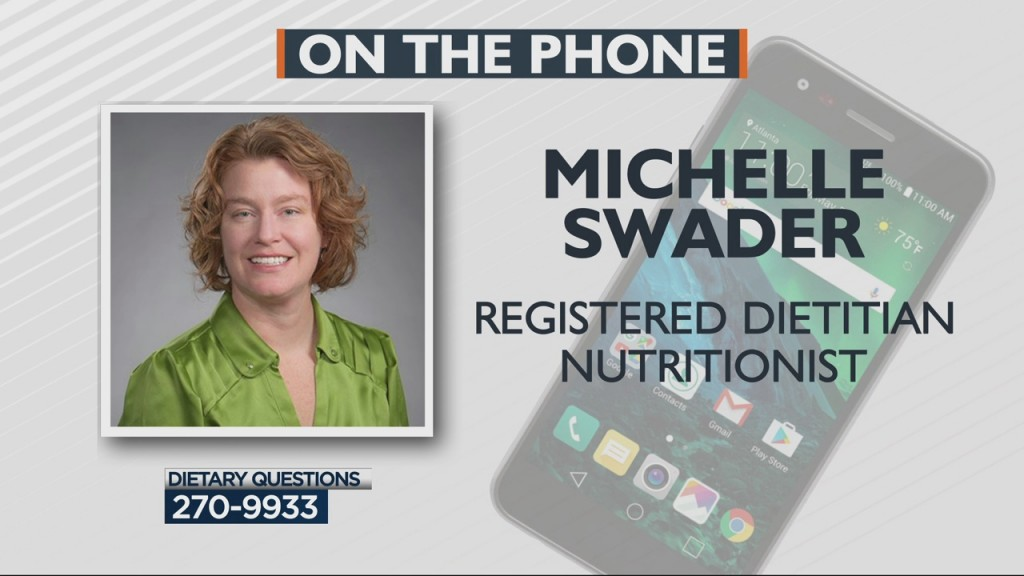 Michelle Swader Answers Your Food And Diet Questions