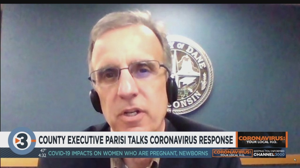 County Executive Parisi Talks Coronavirus Response, Part 1