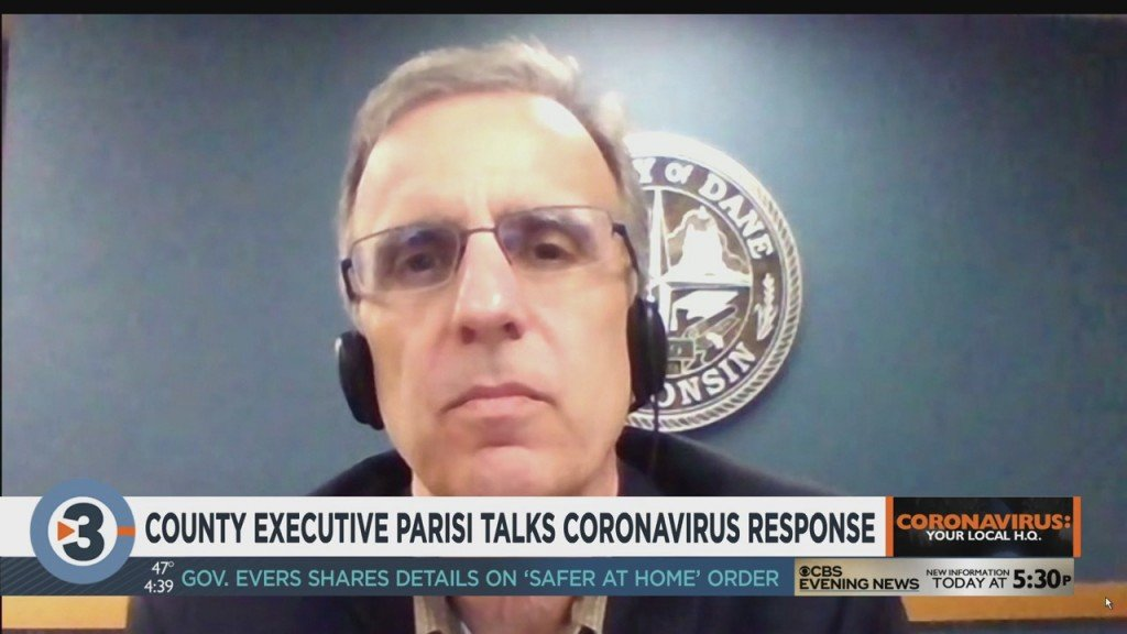 County Executive Parisi Talks Coronavirus Response, Part 2