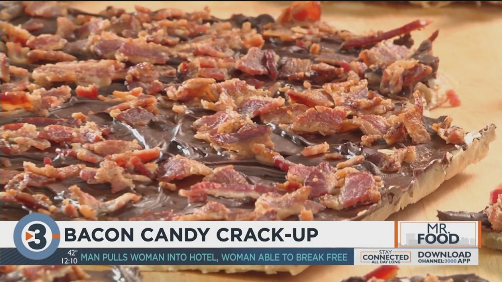 Mr. Food: Bacon Candy Crack Up