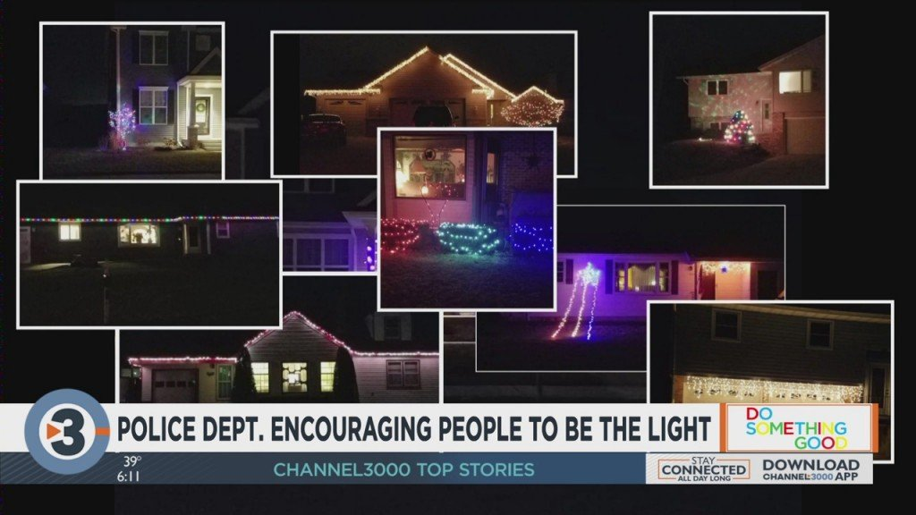 Cross Plains Police Encouraging People To Be The Light