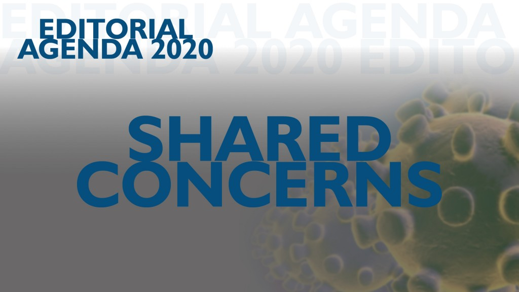 Editorial Agenda Shared Concerns Coronavirus