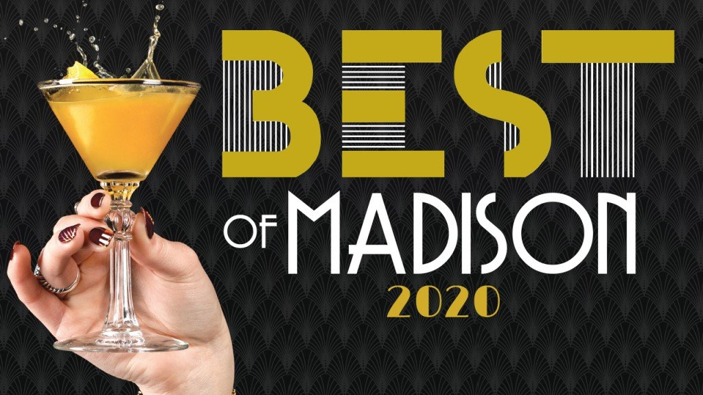 best of madison 2020 with hand holding glass