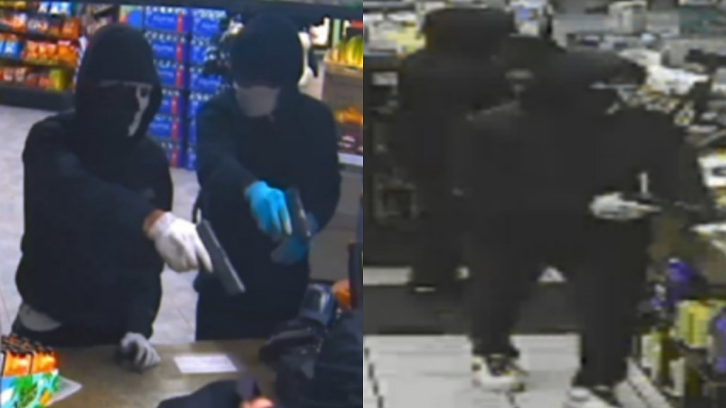 The FBI is searching for two serial robbers