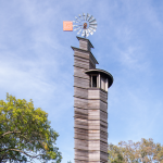 A tower at the Spring Green Taliesin