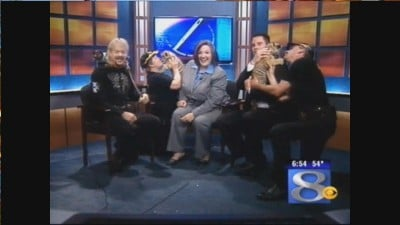 Tiger King appearance on News 8