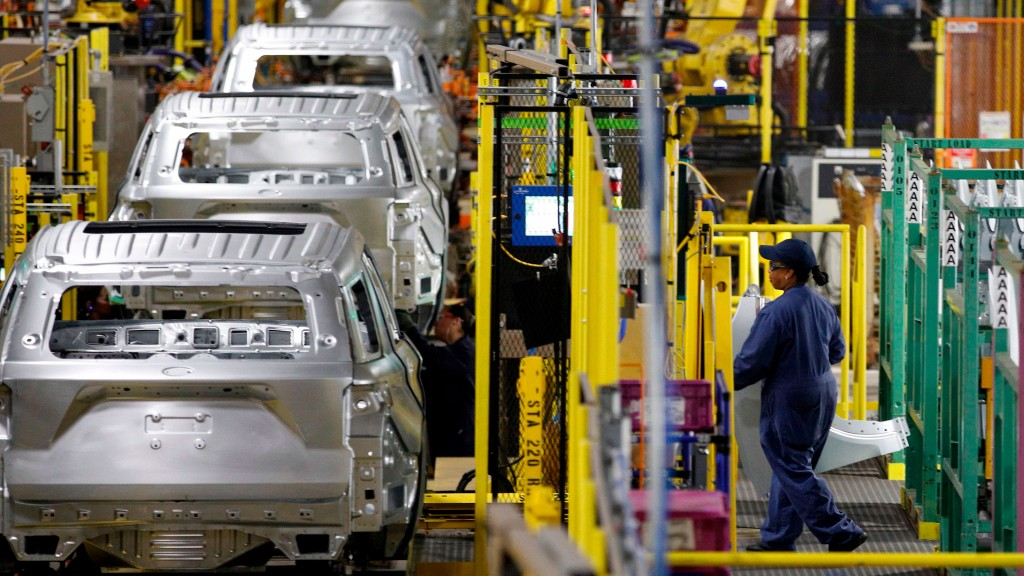 Us Economy Transport Manufacturing Automobile Ford