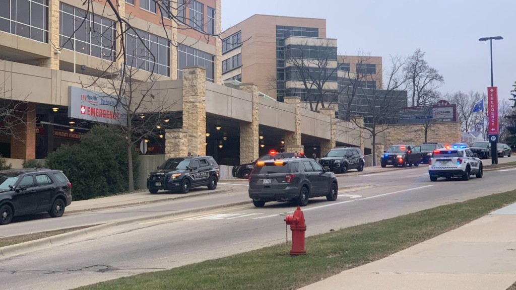 Police respond to shots fired at UW Hospital
