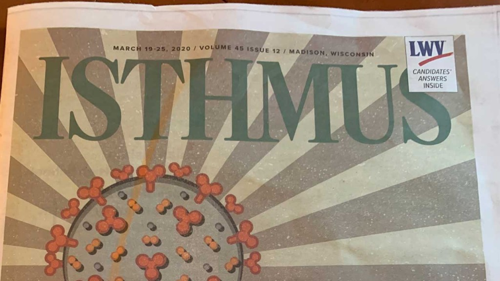 Isthmus Cover