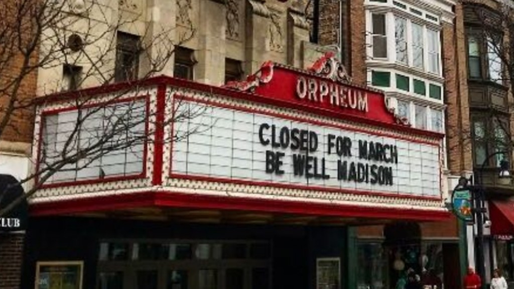 Orpheum Closed Due To Coronavirus