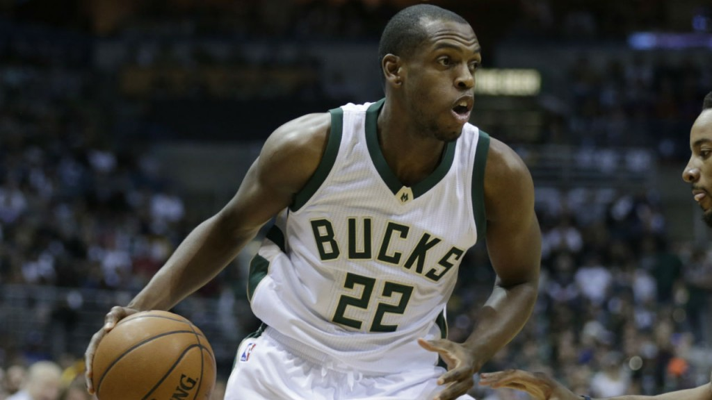 Khris Middleton out with thigh contusion