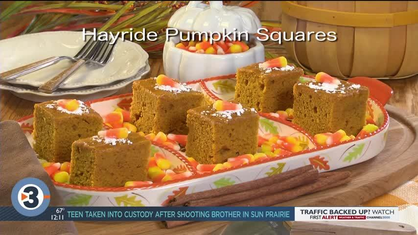 Mr. Food: Hayride Pumpkin Squares