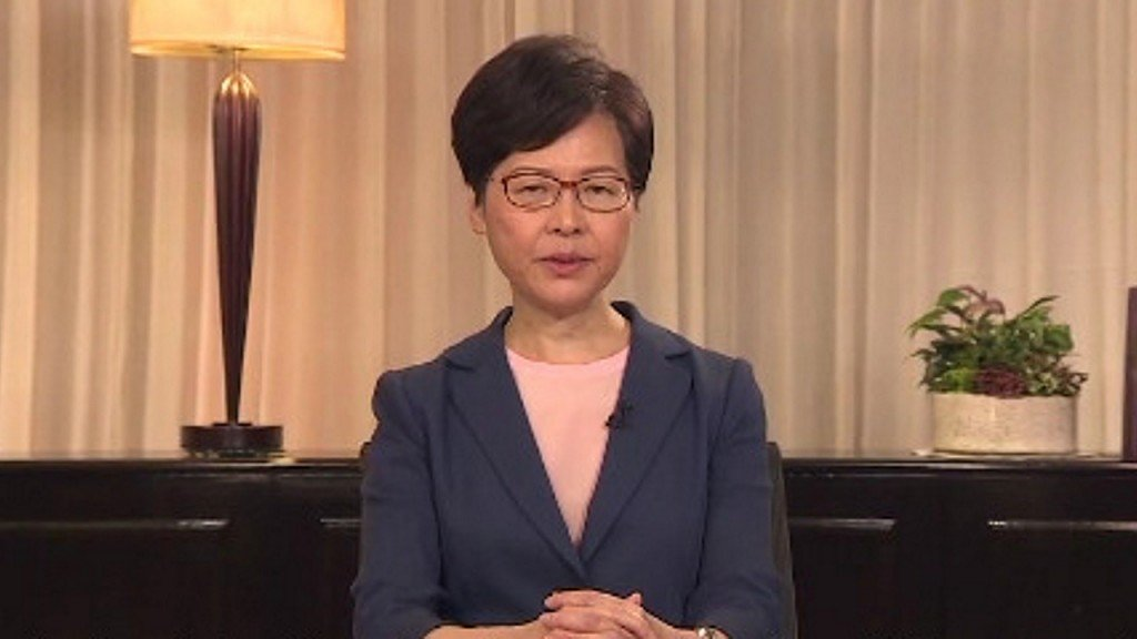 Hong Kong leader Carrie Lam withdraws bill that sparked protests