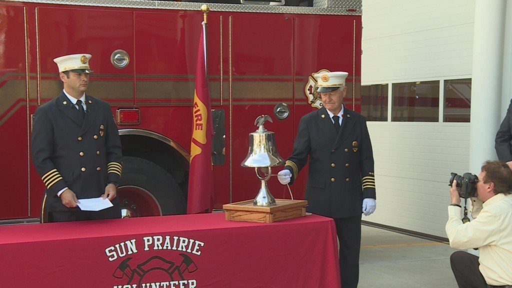 Sun Prairie firefighters honor victims of Sept. 11 attacks