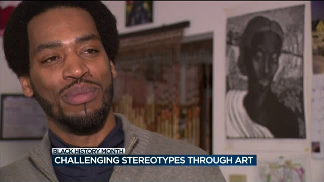 Art collective seeks to challenge stereotypes about black men