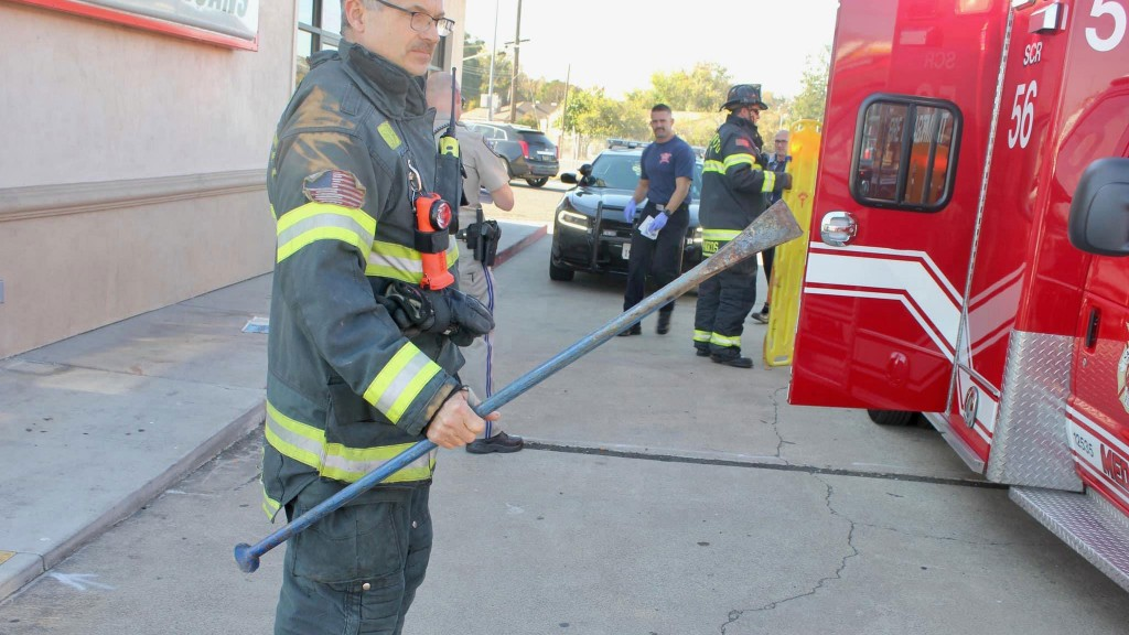 Woman impaled by metal bar that fell off truck