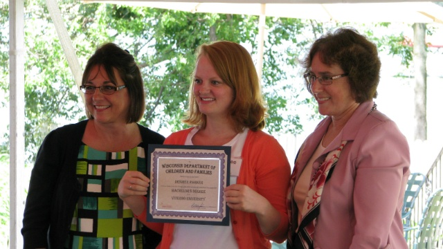 Graduation party celebrates academic success of foster youth