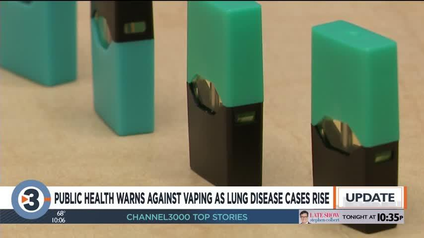 'It's important to stop': Dane County Public Health urges people to quit vaping immediately