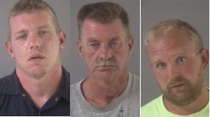 3 men arrested after shots fired towards residence, officials say