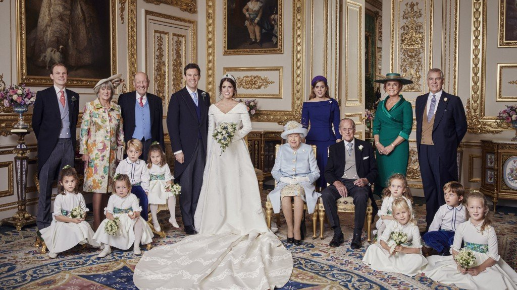 Princess Eugenie's official wedding photographs