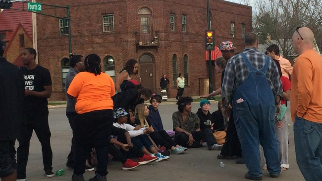 PHOTOS: Protest closes East Washington Avenue more than 7 hours