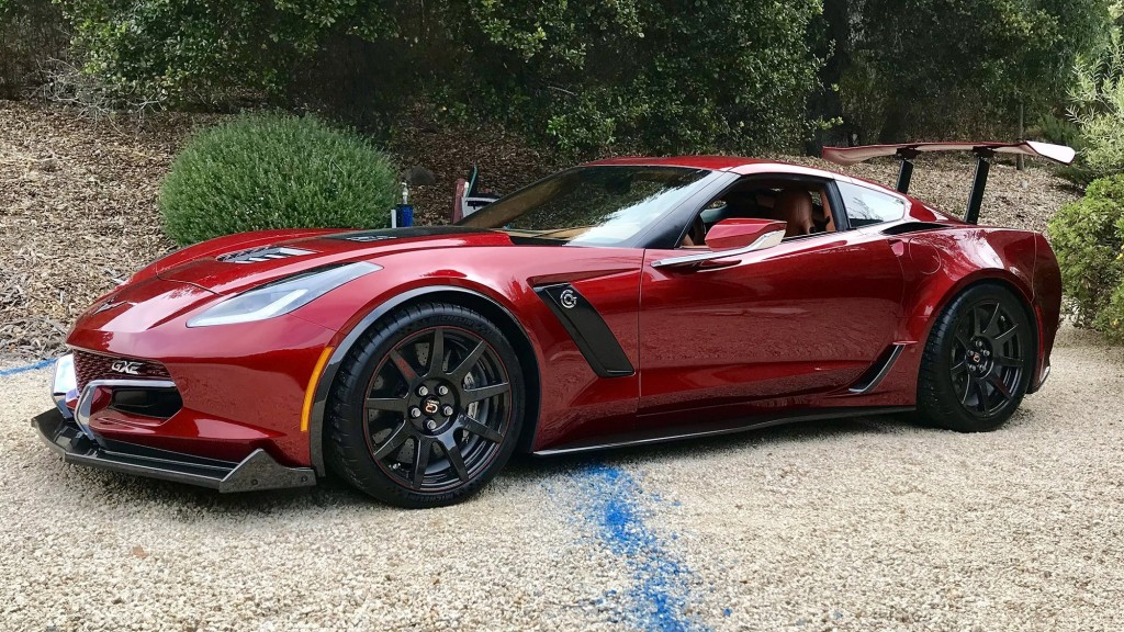 Shifting gears in Genovation's electric Corvette