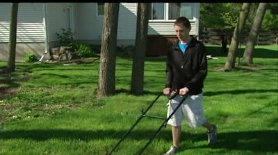 Teen tells story of lawnmower accident