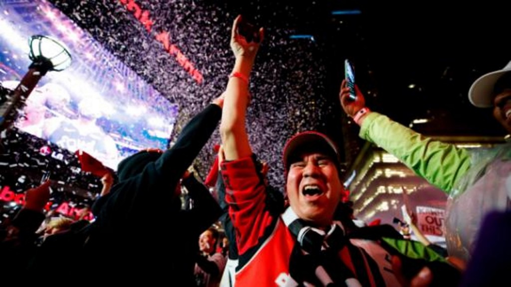 Toronto Raptors fans willed first NBA title success 'into existence'