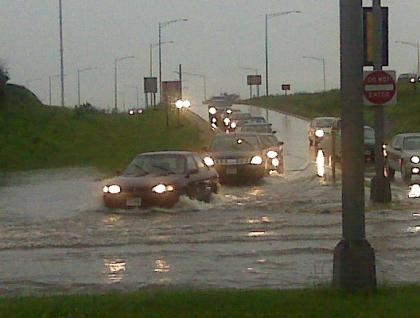 Flash flooding reported in western Wisconsin