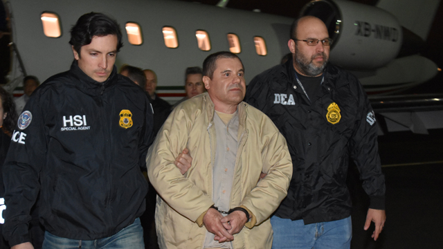 No earplugs or outdoor exercise for El Chapo