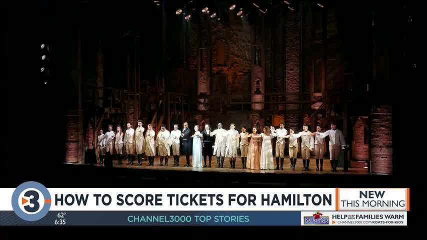 How to score tickets for 'Hamilton' at the Overture Center