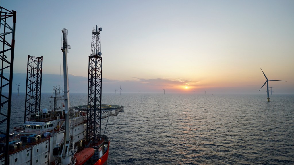 World's largest offshore wind farm nearly complete